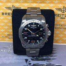 Breitling COCKPIT B50 EB5010 DIGITAL QUARTZ TITANIUM 46MM...