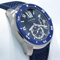Cartier Calibre De Cartier Diver Wsca0011 Blue 42mm Automatic...