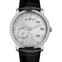Blancpain 6670-1542-55B Villeret Annual Calendar GMT - White...