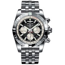 Breitling Men's AB011012/B967/375A Chronomat 44 Watch