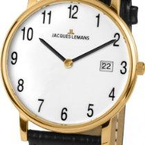 Jacques Lemans VIENNA 1-1848D Herrenarmbanduhr flach & leicht