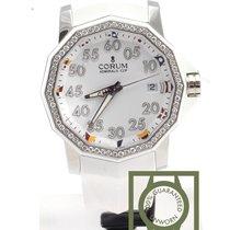 Corum Admiral's Cup Challenger 40 White Ladies Diamond NEW