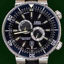 Oris Regulateur Der Meistertaucher 49mm Diver Rubber&Bracelet