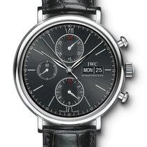 IWC PORTOFINO Chronograph Automatic Black Dial 42mm IW391008 T