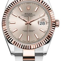Rolex Datejust 41mm Steel and Everose Gold 126331 Sundust...