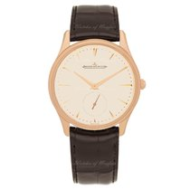 Jaeger-LeCoultre Master Ultra Thin Small Second - Pink Gold