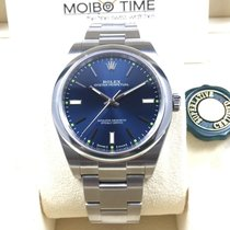 Rolex Oyster Perpetual Blue Index Dial 39mm [NEW]
