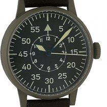 Laco Flieger Beobachtungsuhr Paderborn Stahl Automatik 42mm...