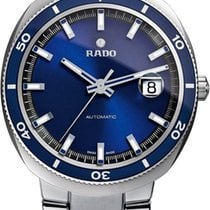 Rado D Star Blue Dial Stainless Steel