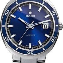 라도 (Rado) D Star Blue Dial Stainless Steel