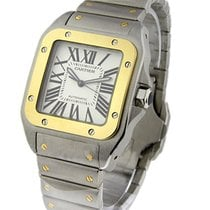 Cartier W200728G Santos 100 XL size Automatic - 2-Tone on...
