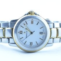 艾美 (Maurice Lacroix) Damen Uhr 28mm Stahl/gold Quartz