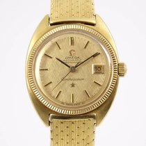 Omega Constellation Damenuhr 750er Gelbgold Automatic Chronometer