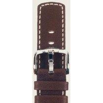 Hirsch Uhrenarmband Mariner Kalbsleder braun L 14502110-2-24 24mm