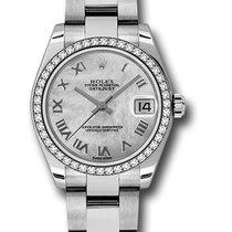 Rolex Unworn 178384 Datejust Midsize 178384 Oyster Bracelet -...