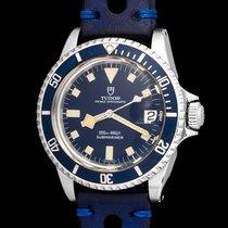 Tudor Vintage 94110 Submariner Snow Flake blue dial,mint