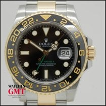 Rolex GMT Master II Steel & Gold Ceramic