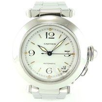 Cartier Pasha white dial C 2324