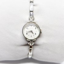 Hamilton vintage Hamilton 10K white gold filled woman's watch