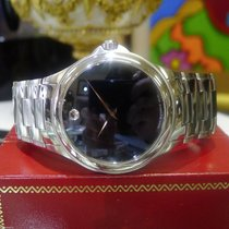Movado Classic Ref. 84 P2 1890 Automatic Stainless Steel Black...