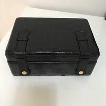 Franck Muller Black Alligator Box & Certificate & Wallet