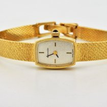 Movado 14k Yellow Gold Silver Dial Manual Wind
