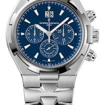 Vacheron Constantin Overseas Chronograph Blue Dial 49150-b01a-...