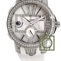 Ulysse Nardin Executive Dual Time Mother Of Pearl Dial 40mm...