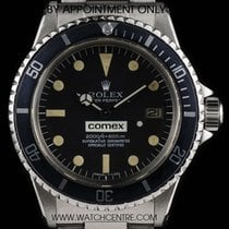 Rolex Stainless Steel O/P Black Dial Comex Sea-Dweller 1665