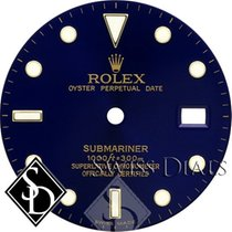 Rolex Submariner Blue Index Marker Swiss Made Dial Two-Tone
