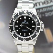 Rolex Submariner NO DATE Stahl Ref:14060 - Box von 1998