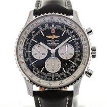 百年靈 (Breitling) Navitimer 01 46 Black Dial Chronograph