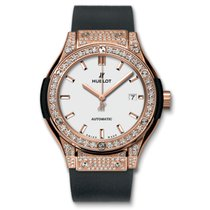 Hublot Classic Fusion King Gold Opalin Pave Automatic 33mm