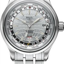 Ball Trainmaster Worldtimer Automatik Herrenuhr GM2020D-SCJ-WH