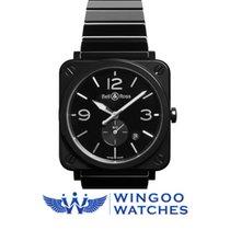 Bell & Ross BR S Quartz 39mm Midsize Watch Ref. BRS-BL-CES...