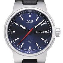 Oris Motor Sport Williams Day Date  Kautschukband  schwarz