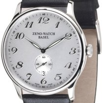 Zeno-Watch Basel -Watch Herrenuhr - Flat Bauhaus Quartz -...