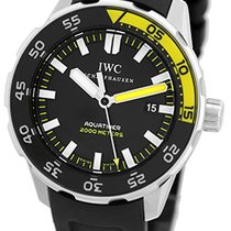 "IWC ""Aquatimer"" Divers Strapwatch."