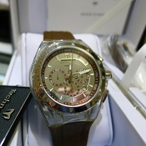 Technomarine Cruise Original Mens Brown Gel Band Chronograph...