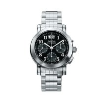Paul Picot Firshire Black Dial Automtic Men's Stainless...
