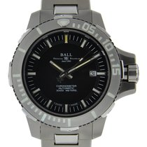 Ball Engineer Hydrocarbon Deepquest Stainless Steel Black Dial...