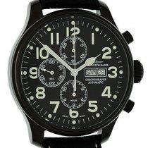 Zeno-Watch Basel Blacky Chrono Day Date Chronograph Automatik...