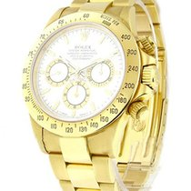 Rolex Used 16528_used_white Yellow Gold Daytona - Zenith...