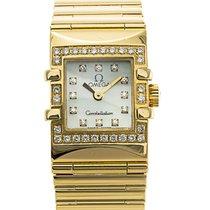 Omega Watch Constellation Quadra 1136.76.00