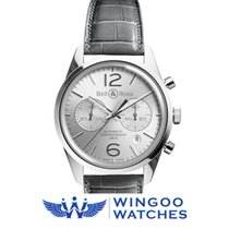 Bell & Ross BR 126 Officer Silver Ref. BRG126-WH-ST/SCR