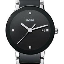 Rado Centrix Diamonds schwarz Datum Keramik/Edelstahl -NEU-