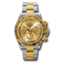 Rolex 116503 Cosmograph Daytona Stainless Steel&18K Yellow...