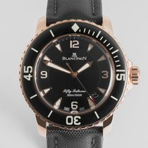 """Blancpain Fifty Fathoms 18ct Gold """"Box and Papers"""""""