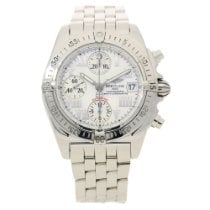 Breitling Chrono Cockpit A13358 - Mother of Pearl Dial - 2006