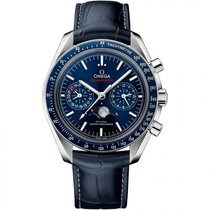Omega Speedmaster Moonwatch Co Axial Chronograph  Stainless...